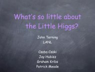 What's so Little about Little Higgs?