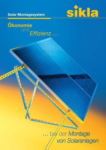Solar Montagesystem - Sikla