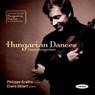 Hungarian Dances - Onyx Classics