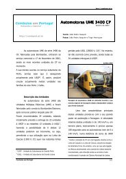 Automotoras UME 3400 CP Automotoras UME 3400 CP