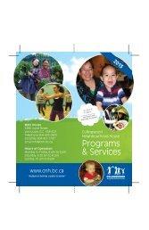 Programs & Services - Collingwood Neighbourhood House