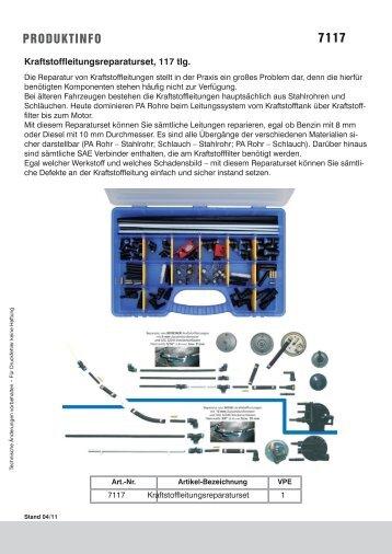 Produktinformationsblatt_PDF - Rösner KFZ Werkzeuge