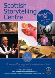 Scottish Storytelling Centre - Edinburgh UNESCO City of Literature