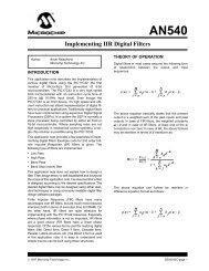 Implementing IIR Digital Filters