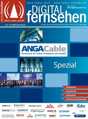 Anga Cable Spezial der DF - Digitalfernsehen