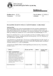 Byrådens sak 38 2013 - Kulturetaten