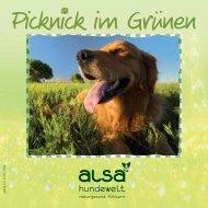 18 % PS: Denken Sie an - ALSA-Hundewelt