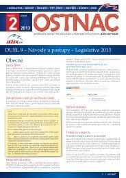 Ostnáč 2/2013 - Legislativa a návody - Ježek software
