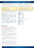 Ostnáč 2/2013 - Legislativa a návody - Ježek software - Page 4