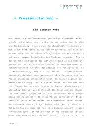 Ein ernstes Wort - Ploettner Verlag