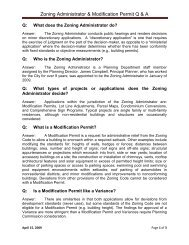 Modification Permits