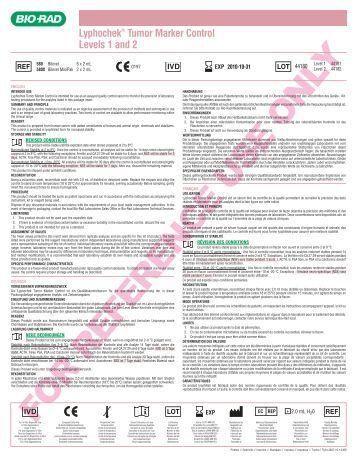 bio rad quality control pdf