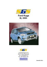 Ford Kuga DM2 Bj. 2008 - SGS