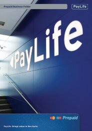 Die Prepaid Karten von PayLife Prepaid ... - Prepaid-karten.at