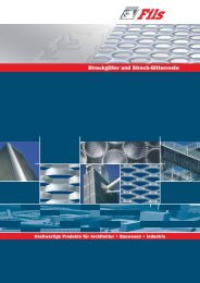 Streckgitter und Streck-Gitterroste - FWR Solutions GmbH