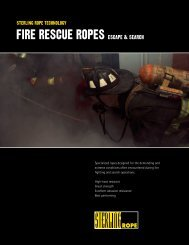 Fire Rescue ropes - Southeastern Emergency Equipment