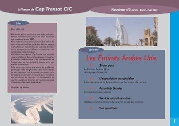 2 Les Émirats Arabes Unis - CIC