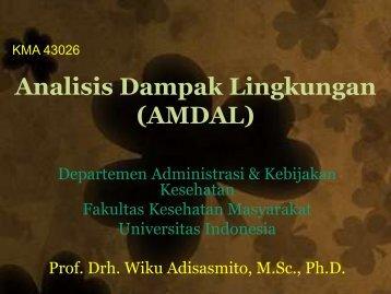 AMDAL - Blog Staff UI - Universitas Indonesia