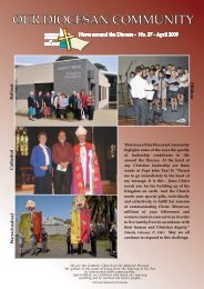 OUR DIOCESAN COMMUNITY - Catholic Diocese of Ballarat ...