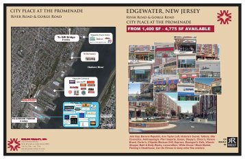 Edgewater Leasing Plan 2012 - Welco Realty, Inc