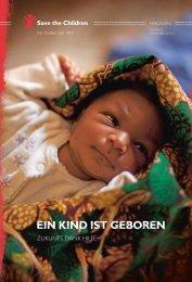 Glück - Save the Children