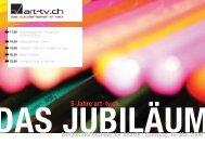 5 Jahre art-tv.ch DAS JUBILÄUM Zürcher Hochschule der Künste