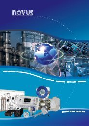 Download Novus's catalog - Thermo/Cense Inc.