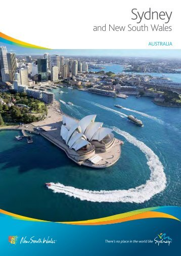 Download Sydney & NSW holiday planner (PDF, 2.6MB)