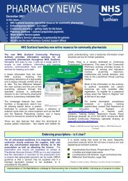 Pharmacy News - Community Pharmacy