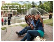 tourism calgary brand standards guide