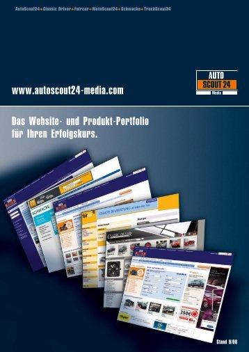 Das Website - AutoScout24 Media