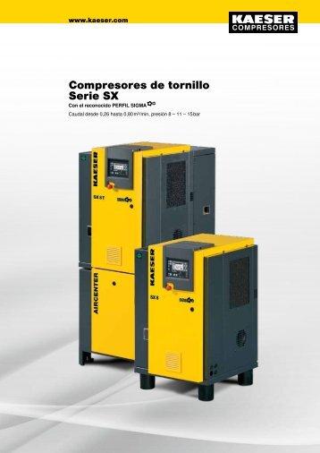 Compresores de tornillo rotativo Serie SX - Kaeser - Kaeser ...