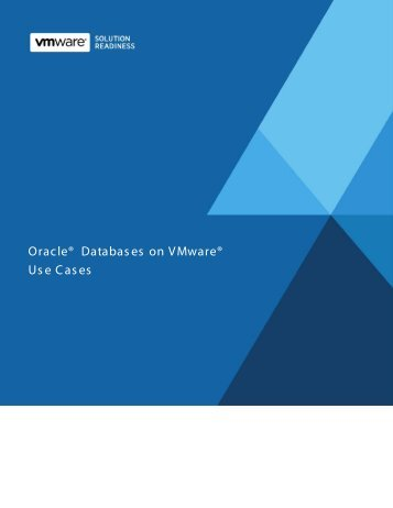 Oracle Database on VMware - Q Associates