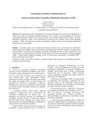 Visualização de Modelos Tridimensionais de Sistemas de ...