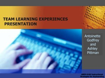 Team Learning Experience PowerPoint