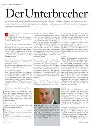 Rudolf Nagiller, 67, ist zwar in Deutsch- land geboren, lebt ... - Fazit