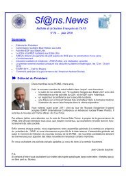 Newsletter n° 16 V2 - Local Sections - American Nuclear Society