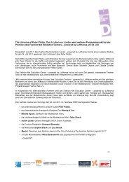 Pressemitteilung. (781 kB) - Fashion Net Düsseldorf