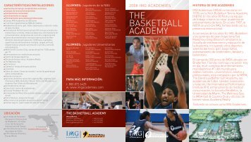 THE BASKETBALL ACADEMY - IMG Academy