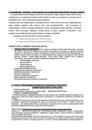 2. pon programma operativo nazionale 2007 ... - SMS M. Guarano
