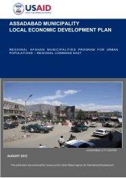 assadabad municipality local economic development plan - Solution ...
