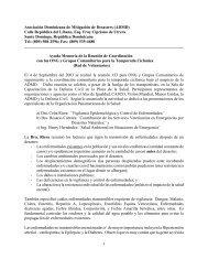 Resumen Presentaciones OPS Salud y Desastres 4 de Sept. 2003