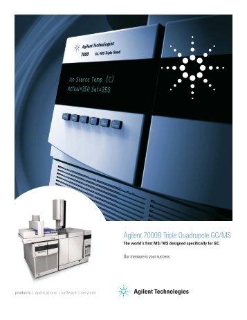Agilent 7000B Triple Quadrupole GC/MS - K'(Prime) Technologies