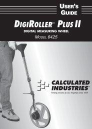 DIGIROLLER™ PLUS II - Spot-on.net