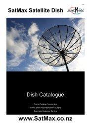 SatMax Satellite Dish