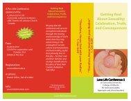 Conference Brochure 3.indd - Concordia Lutheran Seminary