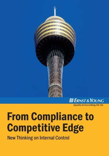 From Compliance to Competitive Edge