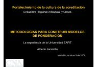 Dr. Alberto Jaramillo de la Universidad EAFIT - CNA