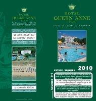 Tariffe Hotel Queen Anne - Lido di Jesolo - Venezia