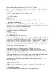 Zápis zasedání akademického senátu ze dne 20.9.2011, 11.00 hod ...